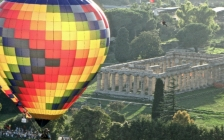a baloon ride over the paestum ruins8